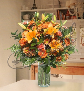 Arreglos florales en jarrones pictures to pin on pinterest - Jarrones flores artificiales ...